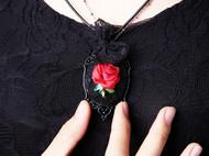 "AileenGift独立设计师品牌原创款""绽放的玫瑰""暗黑唯美哥特风"