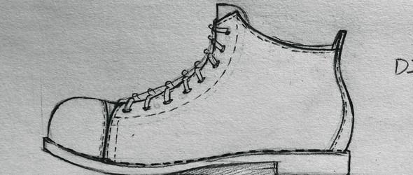 三木虫原创设计 手工真皮拼色马毛马丁短靴