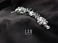 【LXB私人设计】磨砂琉璃水晶手链