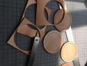 皮具-圆形双层贴合驹缝教程!