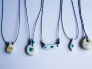 几何陶瓷项链
