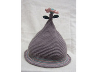 【我要开花】原创手工毛线帽子 可爱 森女 日系