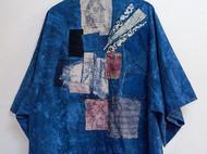 彰施|草木染拼接和服外套长款(定制)