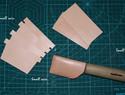 手工制作皮雕钱夹简易diy教程