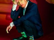 意品造物玩酷子弟【城市系列_米兰】L.O.V.E.男女印花运动袜