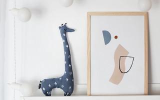 DIY布艺教程:手工制作长长长脖子的长颈鹿布艺玩偶