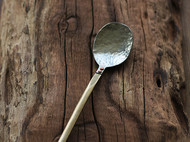 「茶桌上的器物们」金工手作洋白铜茶匙 正餐勺子