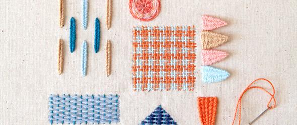 轻盈,轻快,清新 - 智利纺织品设计师 KarenBarbé 的刺绣作品