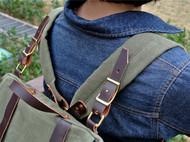 Tsanggoods 全新定番Gaia系列70's西德军包改良款双肩背包