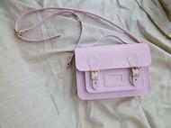 11寸粉红色半植鞣革剑桥包-15.07.01