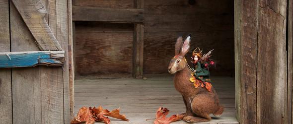 她将回收的复古服饰,变成森林里的花仙子与玩偶小精灵 | Lavender&Lark