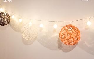 冬日温暖装饰灯~