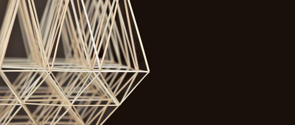 简约而梦幻的Himmeli挂饰   芬兰传统匠人 Eija Koski 的创作过程与作品精选