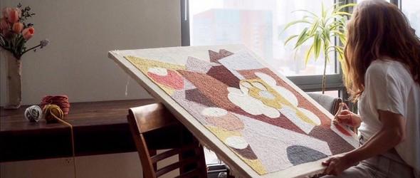 人物访谈(视频) | 纺织艺术家 Rose Pearlman 的戳戳绣创作