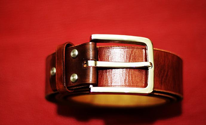 美国马缰牛皮商务休闲腰带