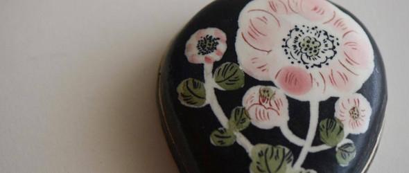 暗色调中的清新自然 | 日本陶艺家大谷桃子新作精选
