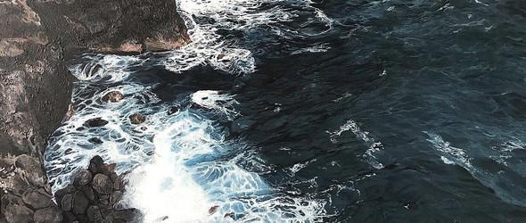 比真实更迷人的手绘大海 | 美国画家Andreea Ionela Berindei作品集