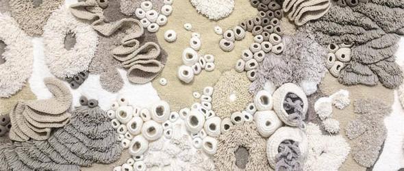 方寸之间,尽显海底美景:海底墨西哥纺织艺术家 Vanessa Barragão 的手工挂毯