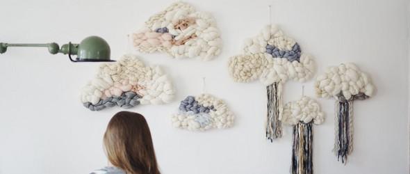 敢于尝试,勇于坚持,一切就有可能 - 法国纺织艺术家 Julie Robert