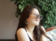 M.Q奎妮小姐 个性时髦大圈圈天然珍珠耳环