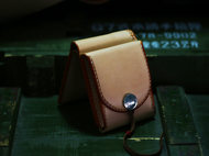 Thug Chimp手工皮具 高桥复刻 美分币 手工制作原色财布钱包 腰包