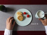 闲云伴月 清风游 陶瓷餐盘