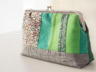 漫与手工:拼布原创布艺帆棉布女款小包布包复古手提包逛街小提包