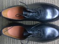 马臀皮定制皮鞋