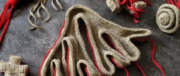 汇美冊   在单纯中感受深刻 -- 法国纤维艺术家 Agnès Sébyleau