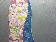奶奶手工老鞋垫 传统打糨 针针手缝