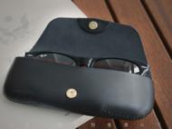 植鞣牛皮眼镜盒