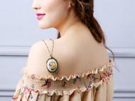 "AileenGift独立设计师品牌原创款""洛丽塔""维多利亚复古长款毛衣链"