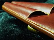 骄阳手工皮具个性定制专业美发工具腰包 梳子包剪刀包发型师工具包纯手工制作