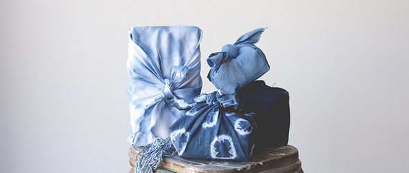 扎染風呂敷 | Shibori Furoshiki wrapping