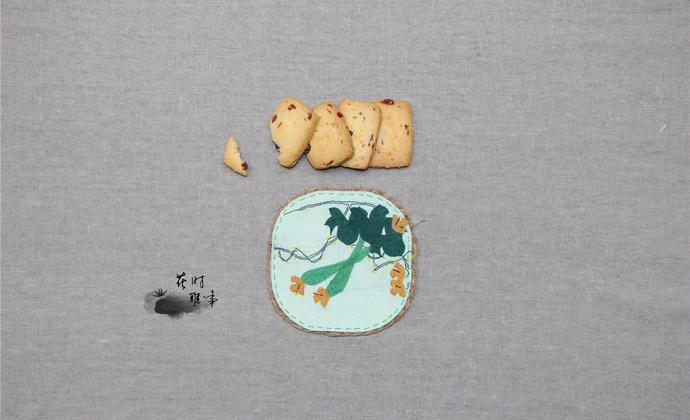 手工杯垫【丝瓜】,尝尝果,喝喝茶吧~