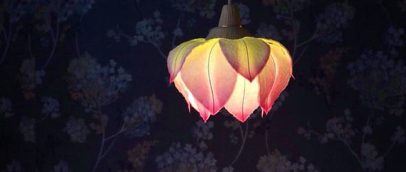 日本纸艺家村松さちえ(Sachie Muramatsu)的和纸纸灯新作(内含花朵灯视频制作教程)
