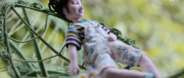 创作记 | 童年是一首不成调的歌 (纤维软雕塑艺术)
