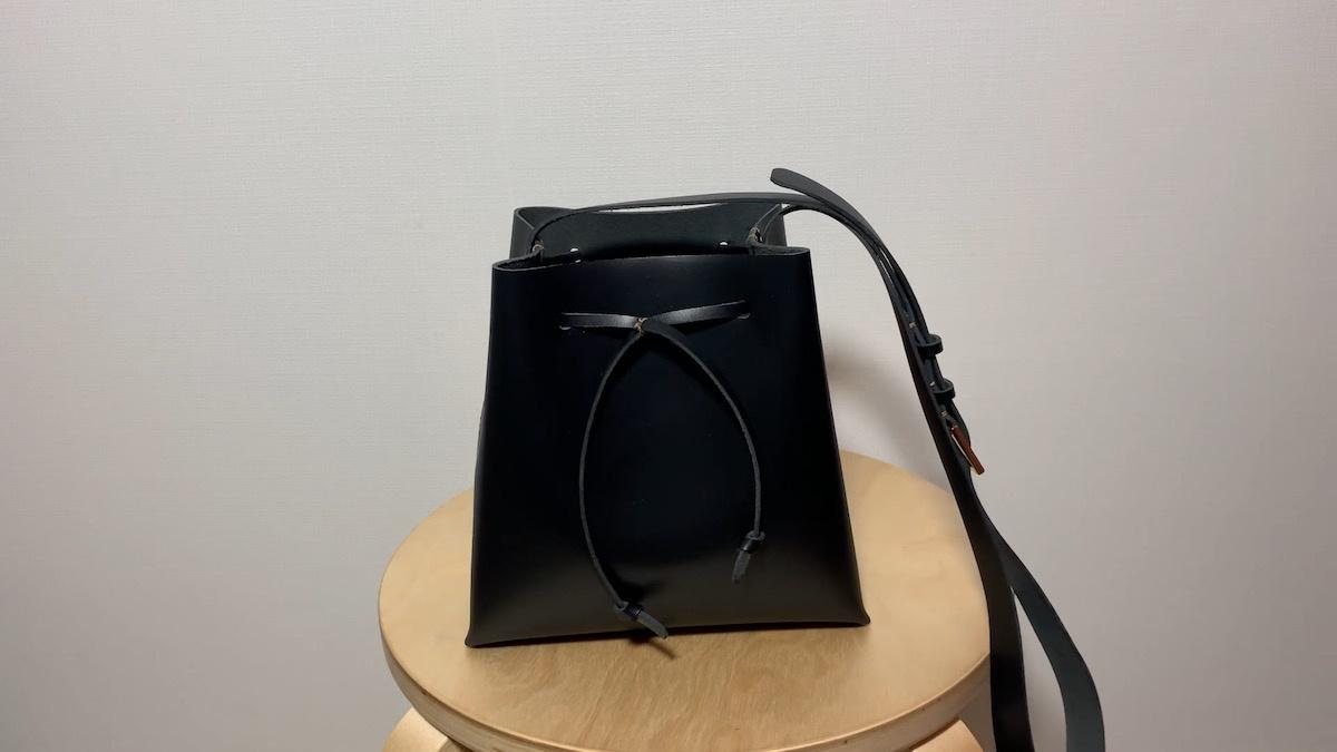 手工皮具DIY教程:迷你款水桶包手工制作过程 / Mini size bucket bag