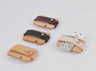 头层植鞣皮 真皮 手工苹果耳机绕线器便携理线器收纳器