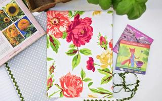 [做一件幸福小物01]给你的笔记本一夏天的繁花似锦