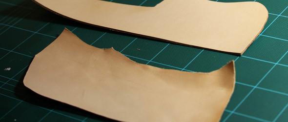 DIY皮革教程:小零钱包手工制作过程及教程