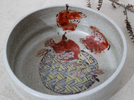 长子系列 釉上粉彩 纯手工陶瓷装饰器皿 茶洗 储物