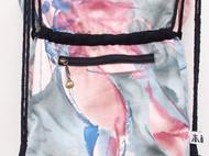 新品油画系双肩抽带花型休闲潮女荷包