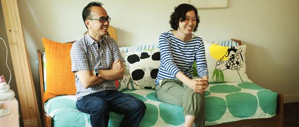 温暖而俏皮的家装设计 - 日本设计师小林恭和小林 マナ的家