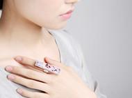"""AileenGift独立设计师品牌原创款极简新中式""""枝""""时装戒指"""