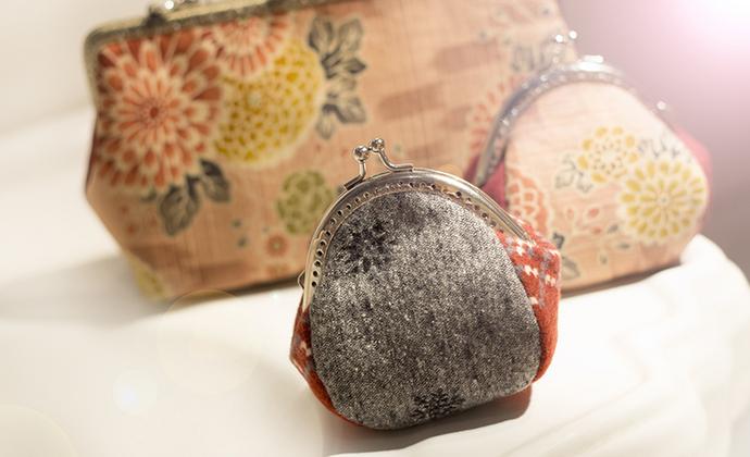 漫与手工:福年暖货 8.5cm口金零钱包 小灰灰小荷包