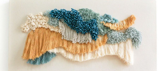 像浮雕一样生动立体的编织 : 纺织设计师Mariana Baertl作品集