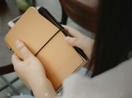 travel notebook 植鞣革
