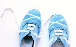 靛蓝染色教程:如何DIY制作靛蓝染色帆布运动鞋?