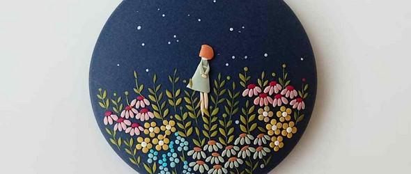 你以为是刺绣?其实是粘土 |Eva Thissen